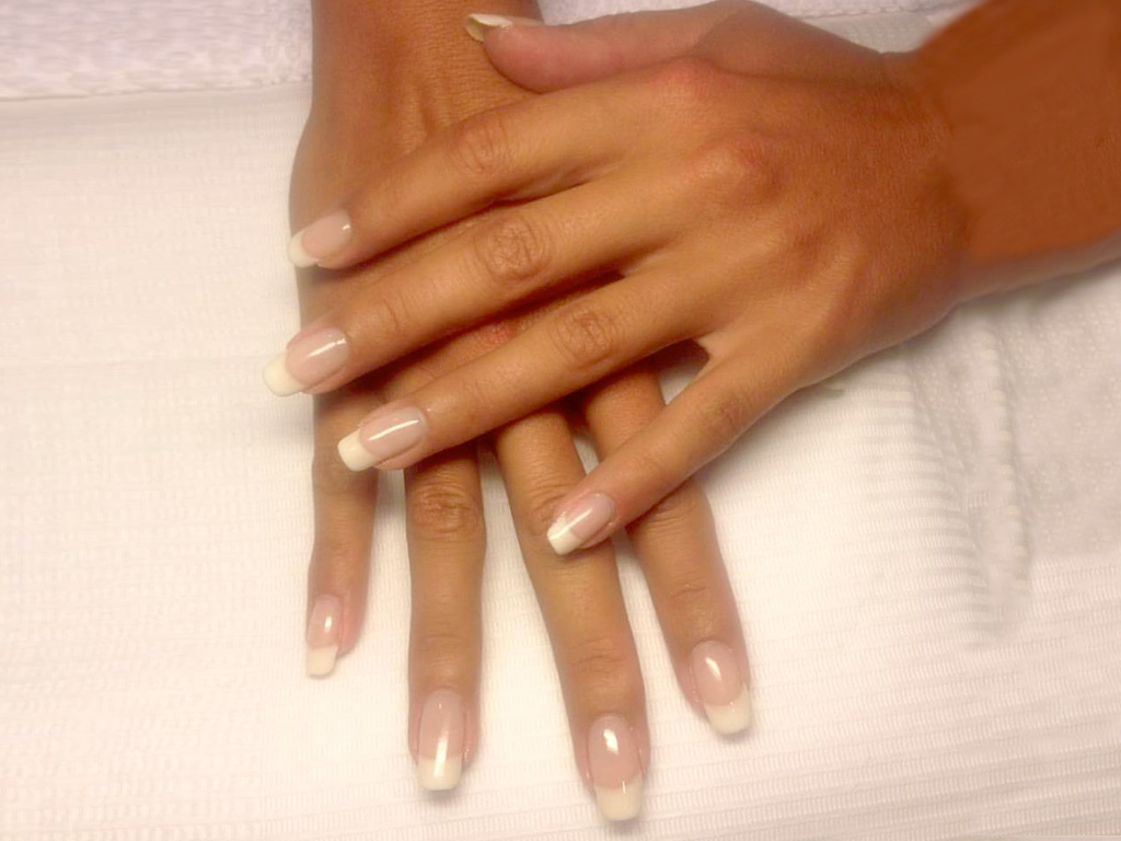 Wedding French manicure O.P.I. GelColor